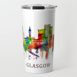 Glasgow Scotland Skyline Travel Mug