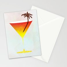 Rum Cocktail Stationery Cards