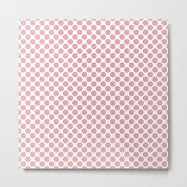 Pink Concha Pan Dulce (Mexican Sweet Bread) Metal Print