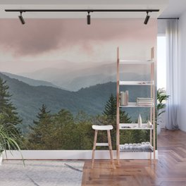 Great Smoky Mountain National Park Sunset Layers III - Nature Photography Wall Mural