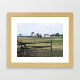 Infirmary at Gettysburg Framed Art Print
