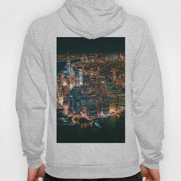 City of Lights New York City (Color) Hoody