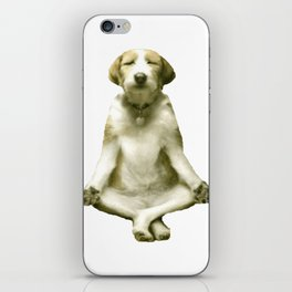 Yoga Dog iPhone Skin