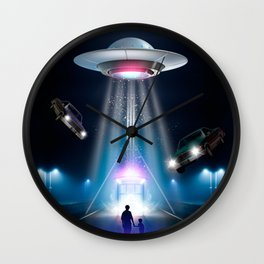 They Are Already Here Wall Clock