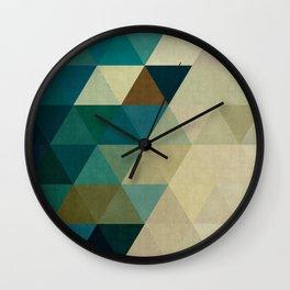 Geometric cosmos I Wall Clock