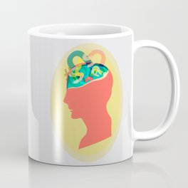 I can´t read your mind Coffee Mug