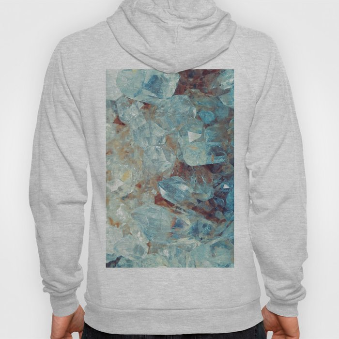 Heavenly Blue Quartz Crystal Hoody