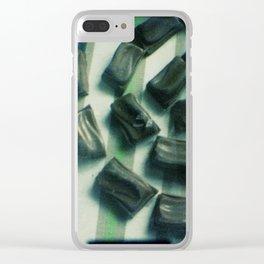 Chocolate swirl Clear iPhone Case