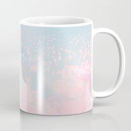 Happy Pastel Blush Underwater Ocean Liquid Bubbles Coffee Mug