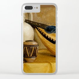 Mandolin At Rest Clear iPhone Case