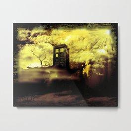 Trenzalore -- Doctor Who Metal Print