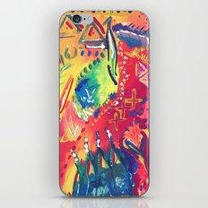 Splashes of colour iPhone & iPod Skin