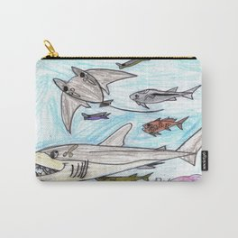 Playful Ray Carry-All Pouch