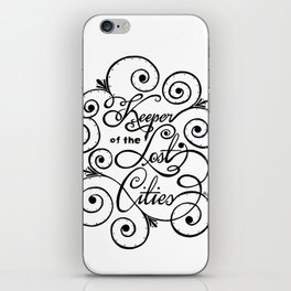Keeper of the Lost Cities iPhone Skin