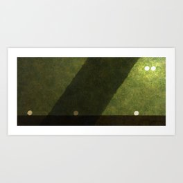 First Vision Triptych II Art Print
