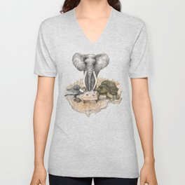 Council of Animals Unisex V-Neck