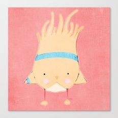 Sporty Birdie Canvas Print