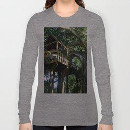 Tree house @ Aguadilla Long Sleeve T-shirt
