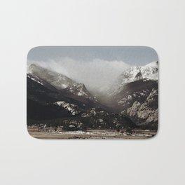 Snow Clouds Bath Mat