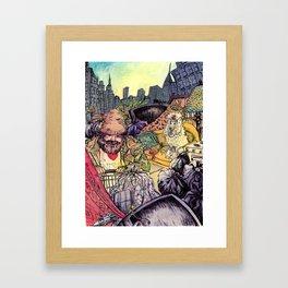 One Man's Trash Framed Art Print