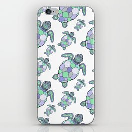 Sea turtles. iPhone Skin