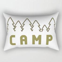 Camp Wilderness Rectangular Pillow