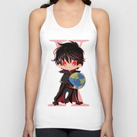 chibi Tank Tops featuring Chibi Kamui by Neo Crystal Tokyo