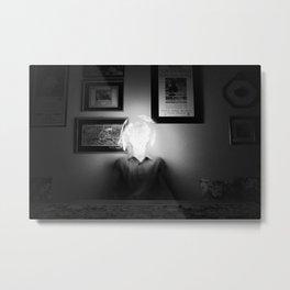 bright brain Metal Print