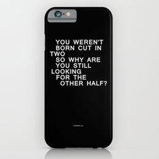 In Half / Original / Mono iPhone 6s Slim Case