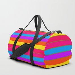 COLORFUL stripes Duffle Bag