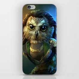 Owloki iPhone Skin