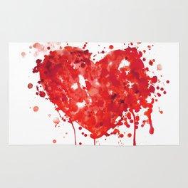 Bloody Valentine Rug