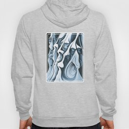 Mountain Faces Hoody