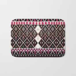 Oriental Heritage Colored Black Berber Moroccan Style Bath Mat