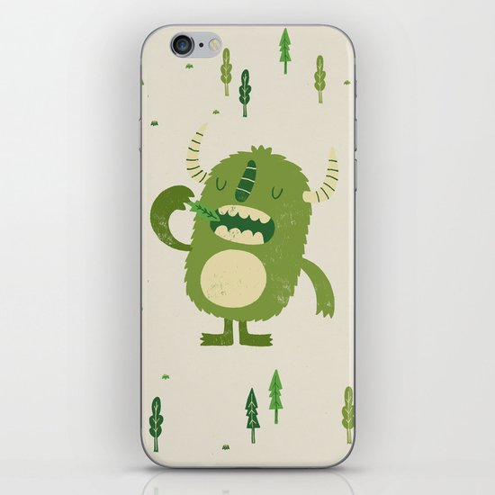 the tree muncher iPhone Skin