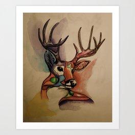 #7 Art Print