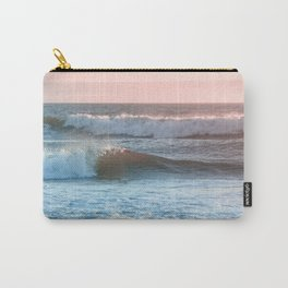 Beach Adventure Summer Waves at Sunset Carry-All Pouch