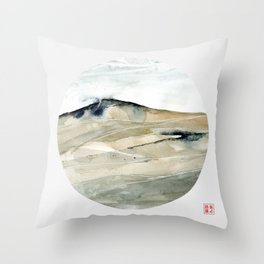 Genius Loci 3 Throw Pillow