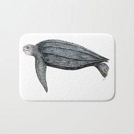Leatherback turtle (Dermochelys coriacea) Bath Mat