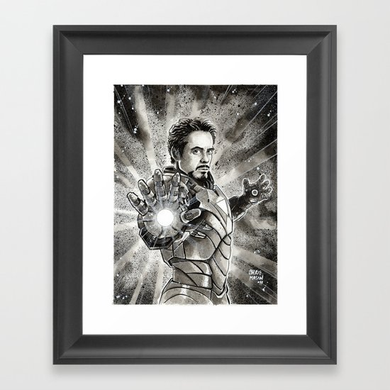 Iron-Man Framed Art Print