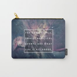 What Life Is All About - Doctor Who Carry-All Pouch