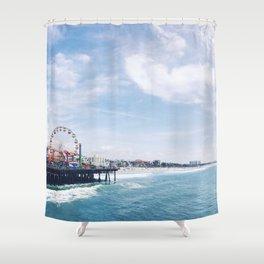 Cali Summer Vibe Shower Curtain