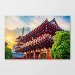 Colors in Tokyo Canvas Print