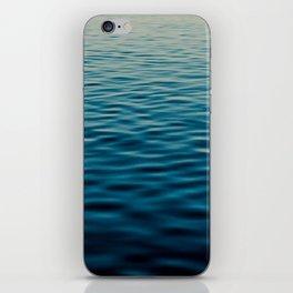 Sunset Blue iPhone Skin