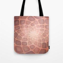 Purple Mandala Chakra Sacred Geometry Tapestry (Crown Chakra) Tote Bag