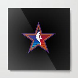 NBA All Star Metal Print