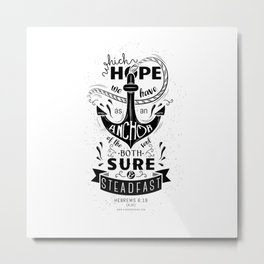 Hebrews 6:19 Metal Print