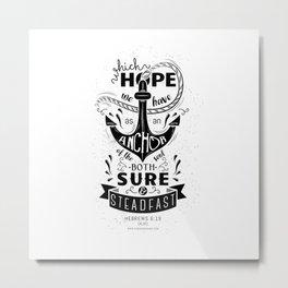 Hebrews 6:19 Metal Print
