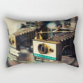 Vintage Instant Cameras Rectangular Pillow