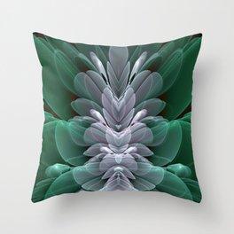 Sea Flower Throw Pillow